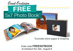 Free 5×7 Photo Book from Walgreens TODAY ONLY