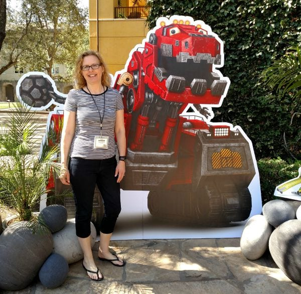 Dinotrux Behind the Scenes – A Visit to DreamWorks Studios