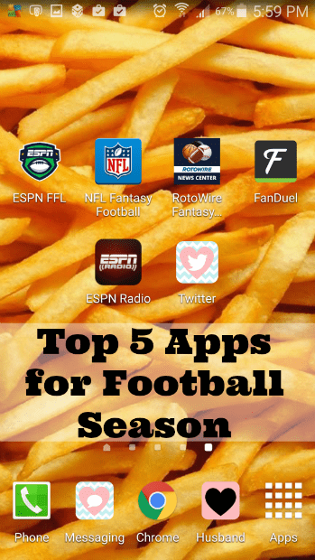 Top 5 Apps for Football Season #VZWBuzz