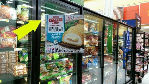 Barber Foods Chicken Walmart Frozen Aisle