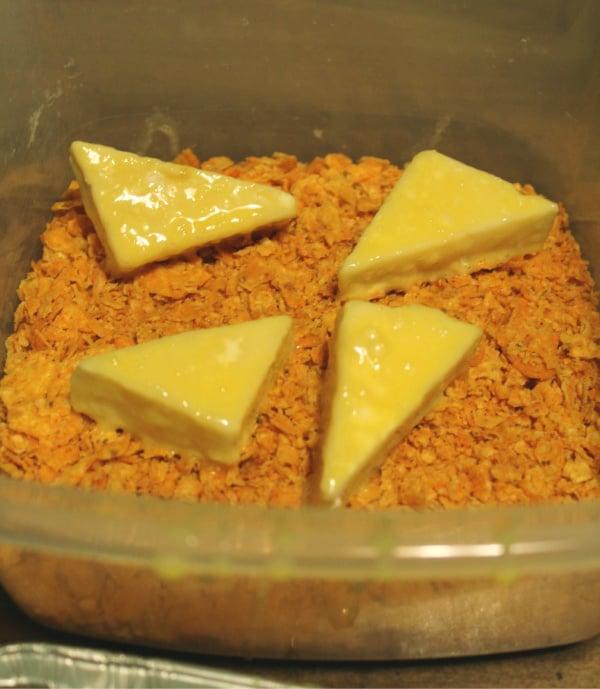 Fried Cheese Stuffed Doritos Coating