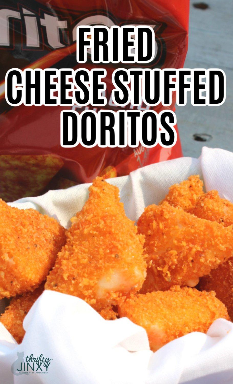 Fried Cheese Stuffed Doritos Recipe