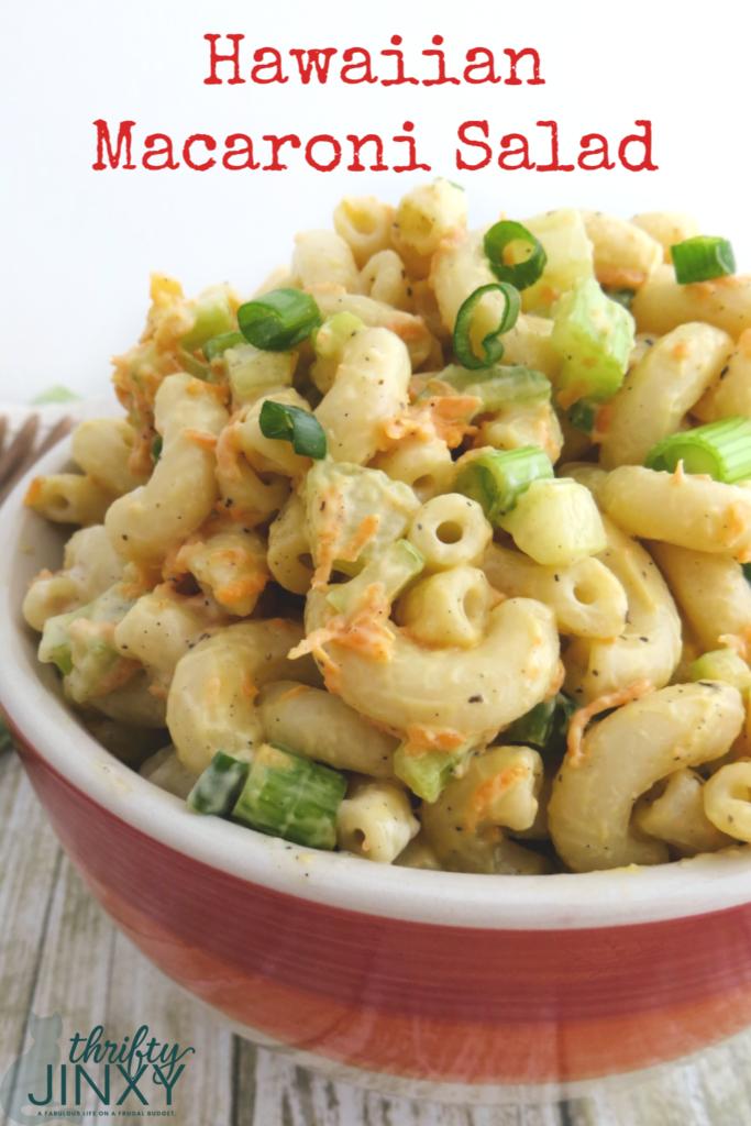 Hawaiian Plate Lunch Macaroni Salad Recipe