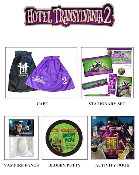 Hotel Transylvania 2 Prize Pack