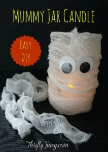 Mummy Jar Candle DIY – A Fun Halloween Craft