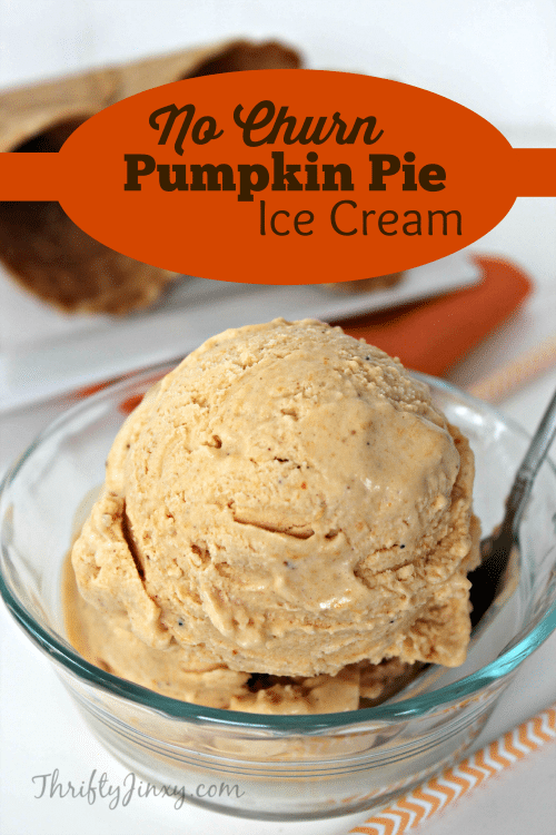 Easy As Pumpkin Pie Ice Cream Recipe — Dishmaps