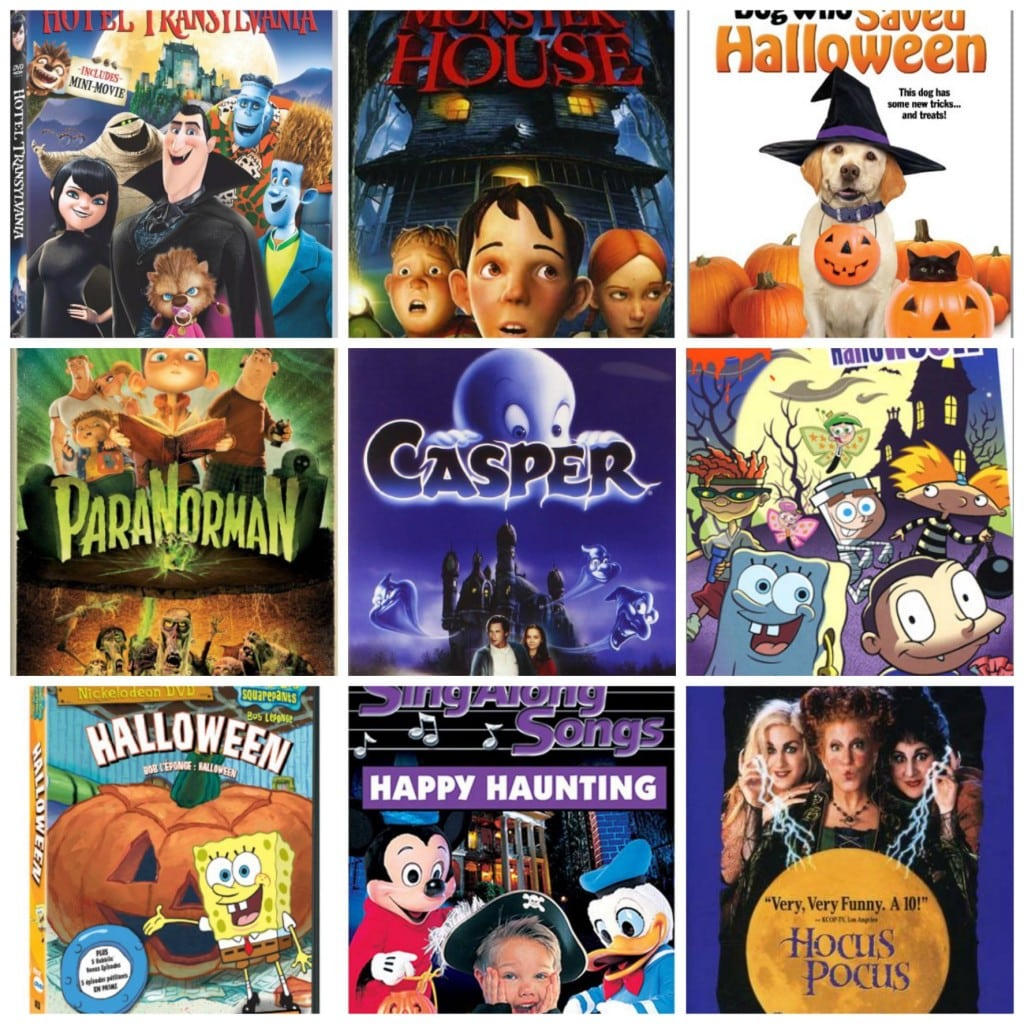 Family Halloween Movies PicMonkey Collage. Halloween ...