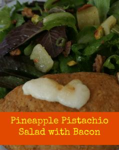 Pineapple Pistachio Lettuce Salad Recipe with Barber Foods
