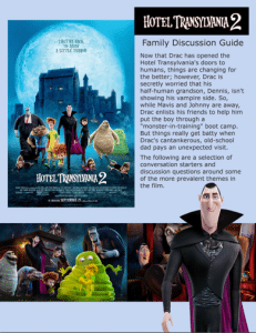 Hotel Transylvania 2 Family Discussion Guide