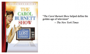 The Carol Burnett Show: The Lost Episodes on DVD Reader Giveaway