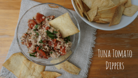 Tuna Tomato Dippers