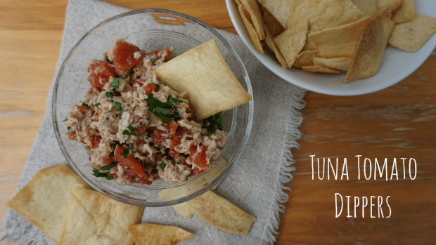 Tuna Tomato Dippers Recipe