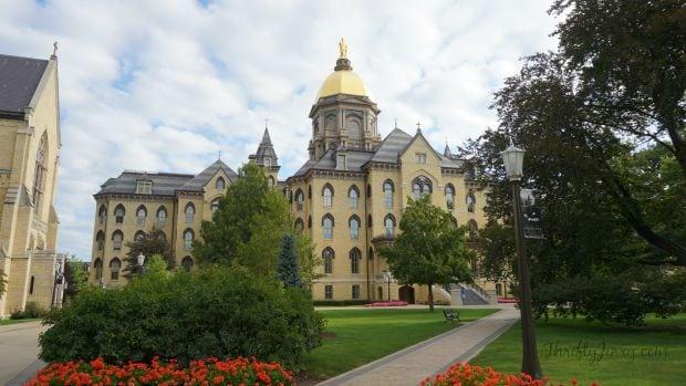 University of Notre Dame Main Building