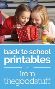 Free Back to School Printable Lunch Notes