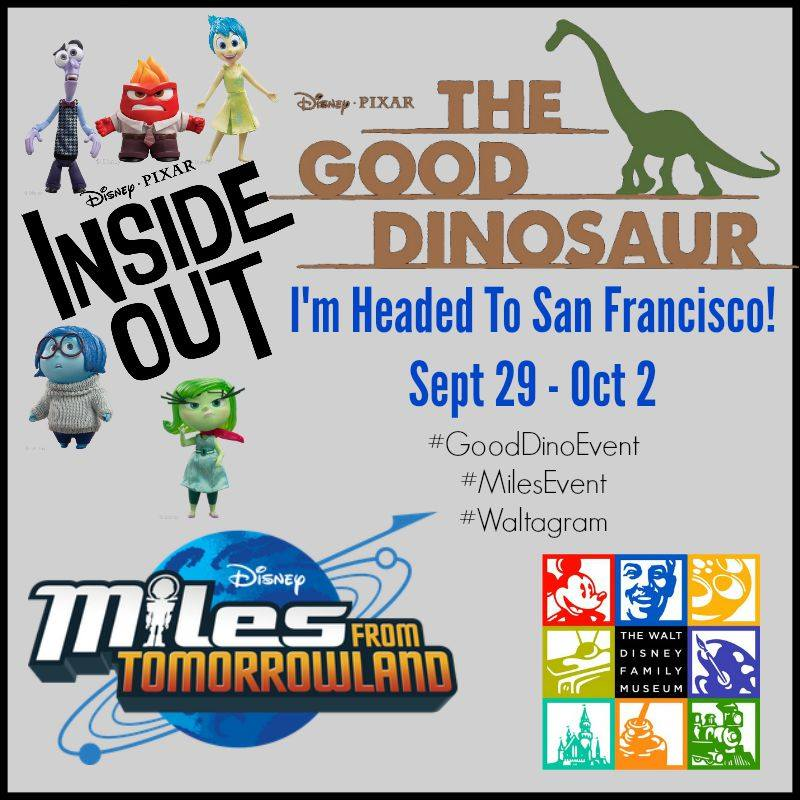 I'm Headed to San Francisco! #GoodDinoEvent