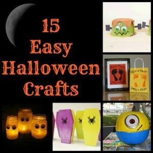 15 Easy Halloween Crafts