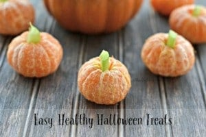 Easy, Healthy Halloween Treats – Clementine Pumpkins and More!