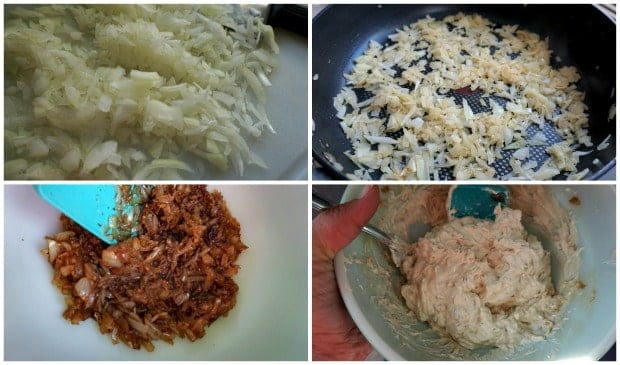 Easy Homemade Onion Dip Recipe Process