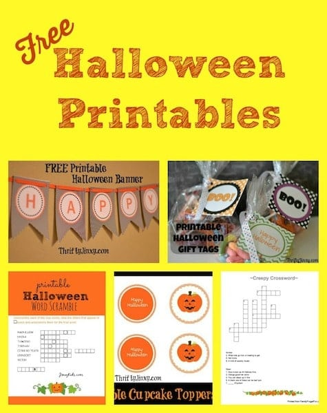Free Halloween Printables - Puzzles, decorations, and more!