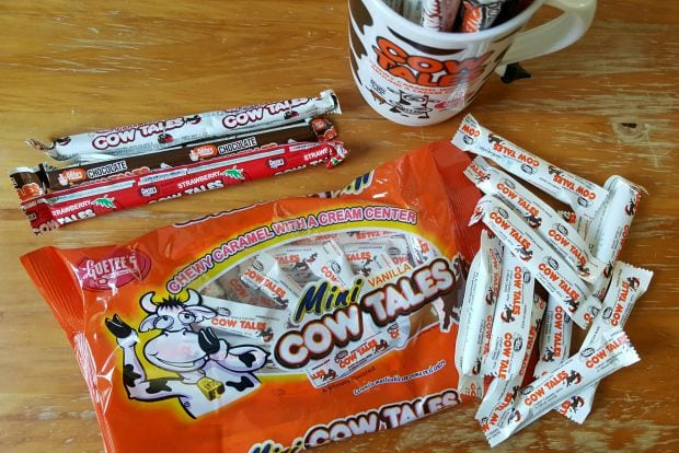 Goetze's Cow Tales Peanut-Free and Tree Nut-Free Halloween Candy