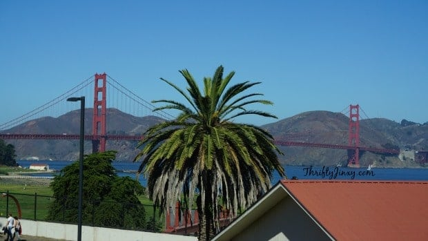Golden Gate Bridge from Walt Disney Family Museum