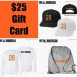 My All American Reader Giveaway