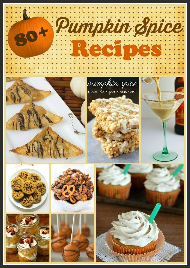 80+ Pumpkin Spice Recipes