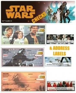 May The Force Be With You AND Your Checkbook – New Star Wars Checks from Checks Unlimited!