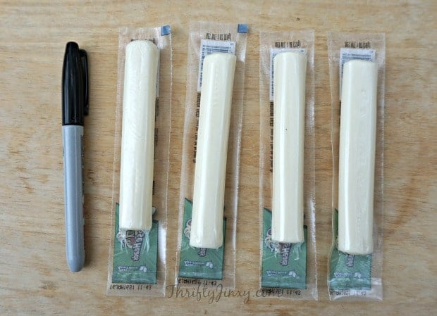 String Cheese Ghosts Supplies
