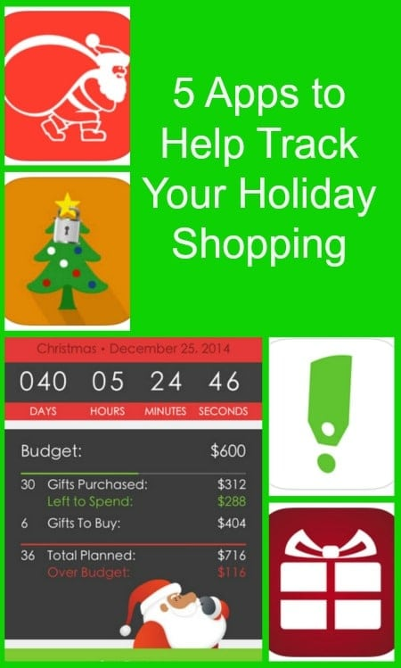 5 Apps to Help Track Your Holiday Shopping #VZWBuzz