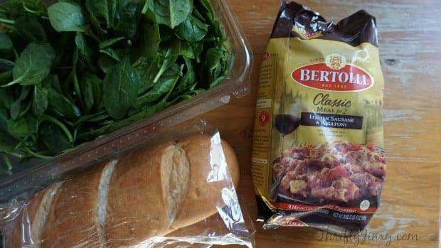 Bertolli Italian Sausage Rigatoni