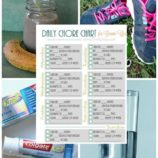 Printable Daily Health 'Chore Chart' for Grown-Ups