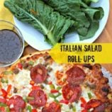 Italian Salad Roll-Ups Recipe