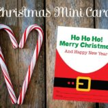 Free Printable Mini Santa Cards