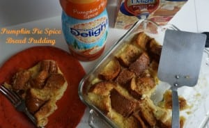 Pumpkin Pie Spice Bread Pudding Recipe