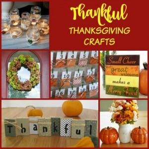 Thankful Thanksgiving Crafts