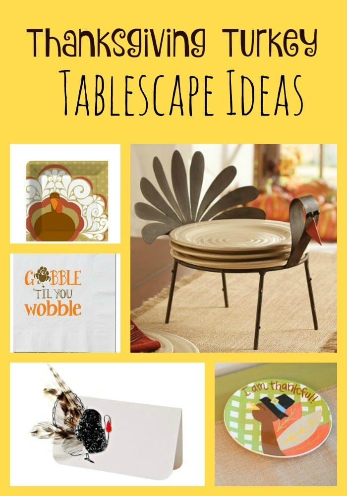 Thanksgiving Turkey Tablescape Ideas