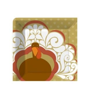 Turkey Fiore Dessert Plate
