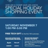 Best Buy Special Holiday Shopping Event this Saturday