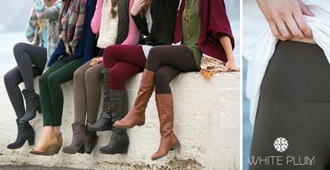 Slimming High Waisted Fleece Leggings Only $5.99! (Regularly $22)