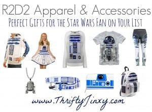 R2D2 Gifts for the Star Wars Fan on Your List