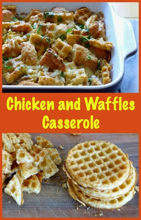Chicken and Waffles Casserole Recipe