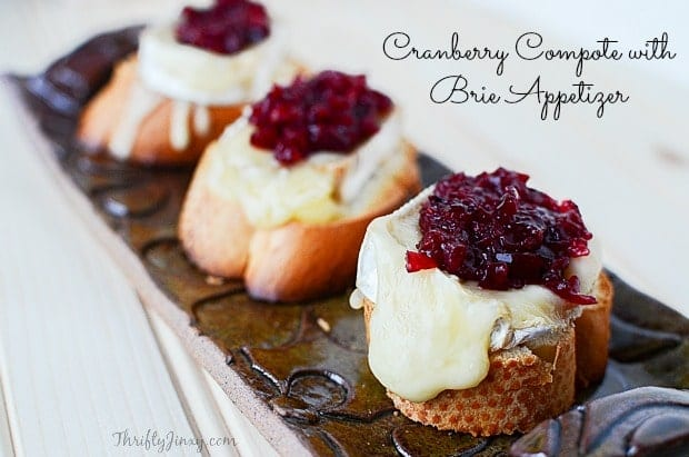Cranberry Compote with Brie Appetizer Recipe (1)