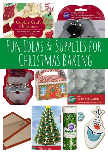 disclosure affiliate fun ideas and supplies for christmas baking