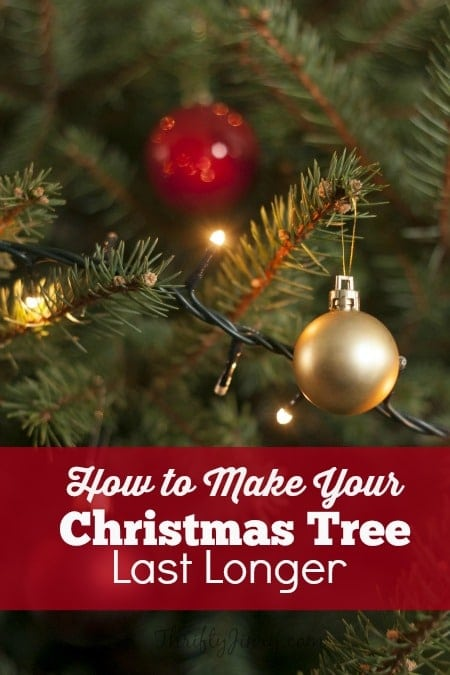 Perfect How To Make Your Christmas Tree Last Longer