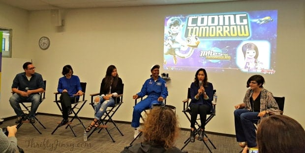 Miles from Tomorrowland Girls Coding STEM Panel
