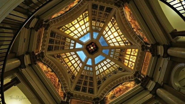 Monroe County Courthouse Ceiling Bloomington