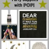 New Year's Eve Party Supplies with POP!