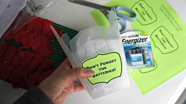 Process - Battery Take-Out Boxes