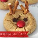 Rudolph Peanut Butter Cookie Recipe